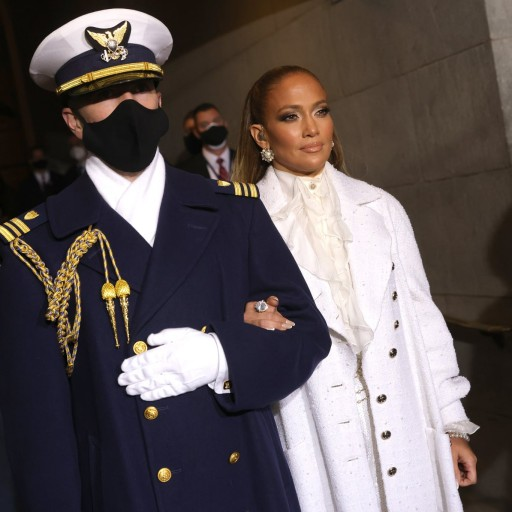 The Smoky Eye, That Glossy Lip – J Lo's Inauguration Makeup Couldn't Have Been More Classic J Lo