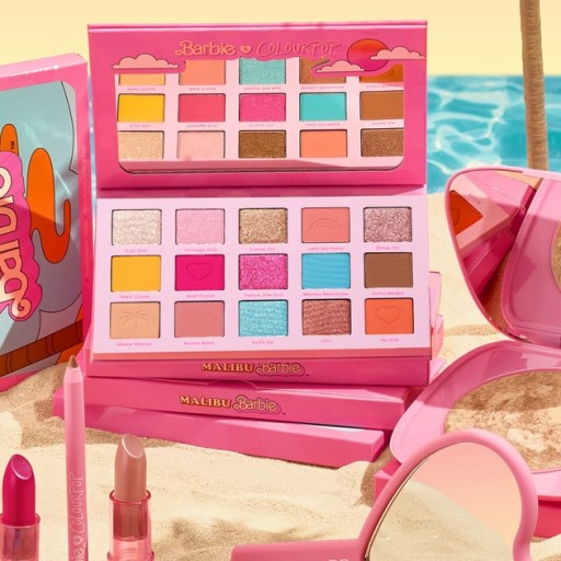 Colourpop's New Barbie Collection Goes Perfectly With the Dreamhouse I Wish I Had