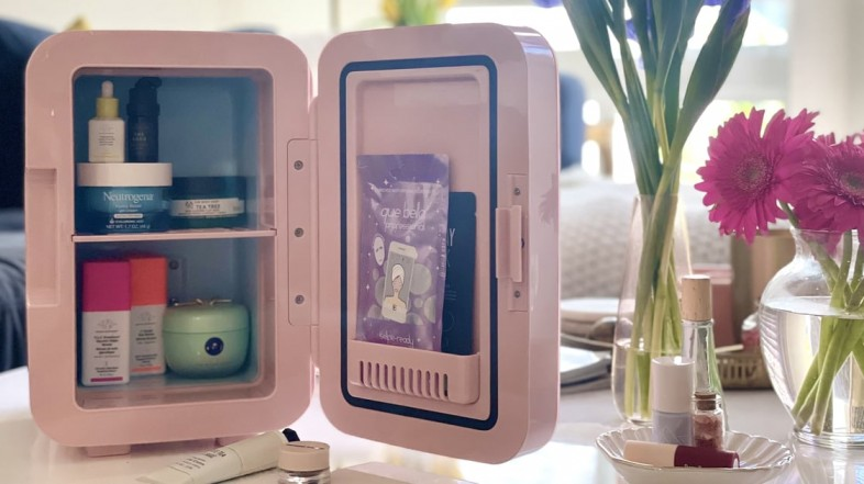I Tried This Beauty Fridge From Target, and It's 100% Worth the Hype For Skin-Care Lovers